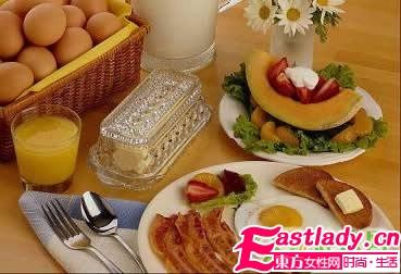 美女想减肉肉的11个早餐建议