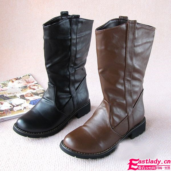 日式潮派复古鞋 温暖冬季更时尚