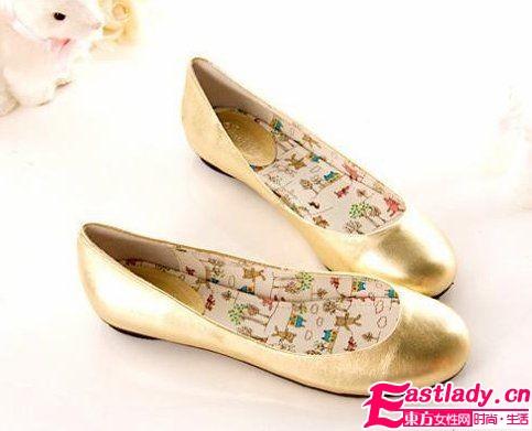 10款名媛大爱的平底美鞋