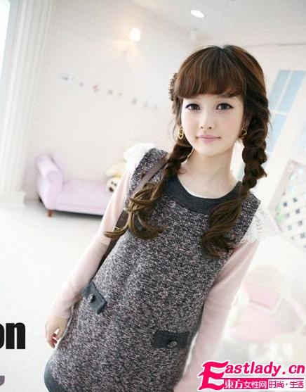 韩国嫩模8款美衣秀甜蜜情调