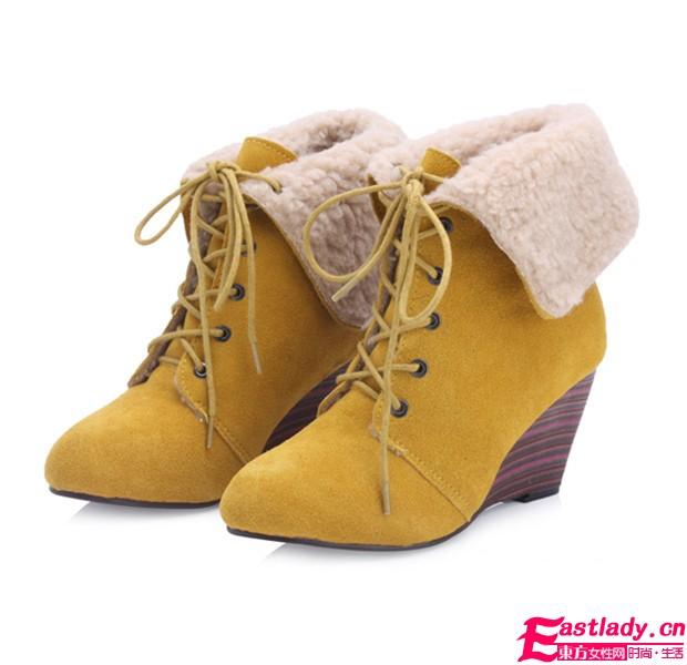 冬季甜美不断线 暖呼呼美靴不容错过