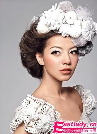 冬日新娘美妆 净色的浪漫温暖