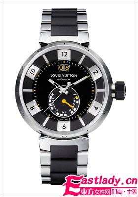 黑色迷情 LV推出圣诞情侣腕表