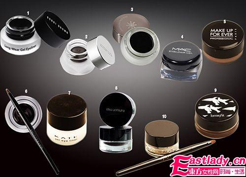 轻松打造完美眼妆的10款人气眼线膏