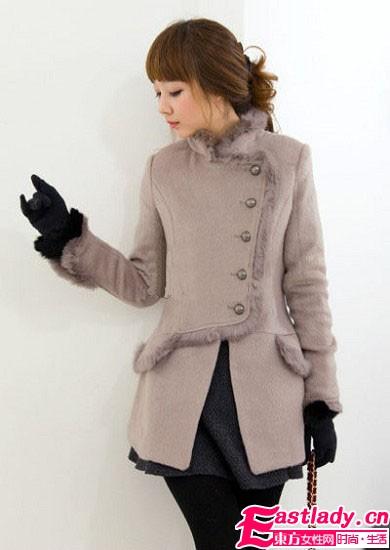 气质毛呢外套 展现你的优雅时尚范