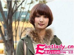 UP回头率 5款街拍东京美感发型
