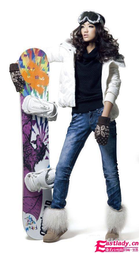 潮女必看 新款雪地靴穿出小细腿
