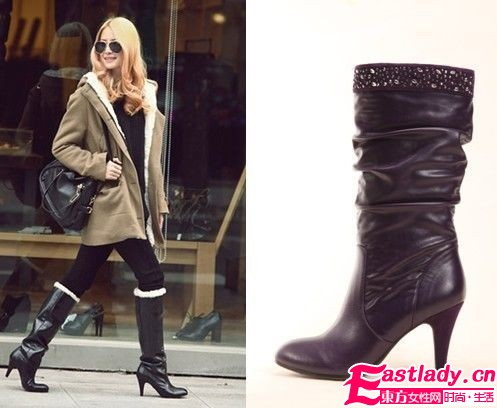 寒冬美丽绽放 时尚女靴展现自我风采