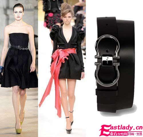 黑礼服裙实用要点 简单配饰是关键