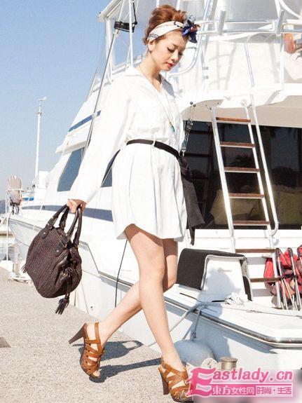 2011年春夏 日系品牌Joias演绎浪漫航海风style