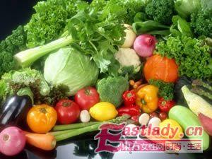 想减肥 多吃蔬菜少吃油