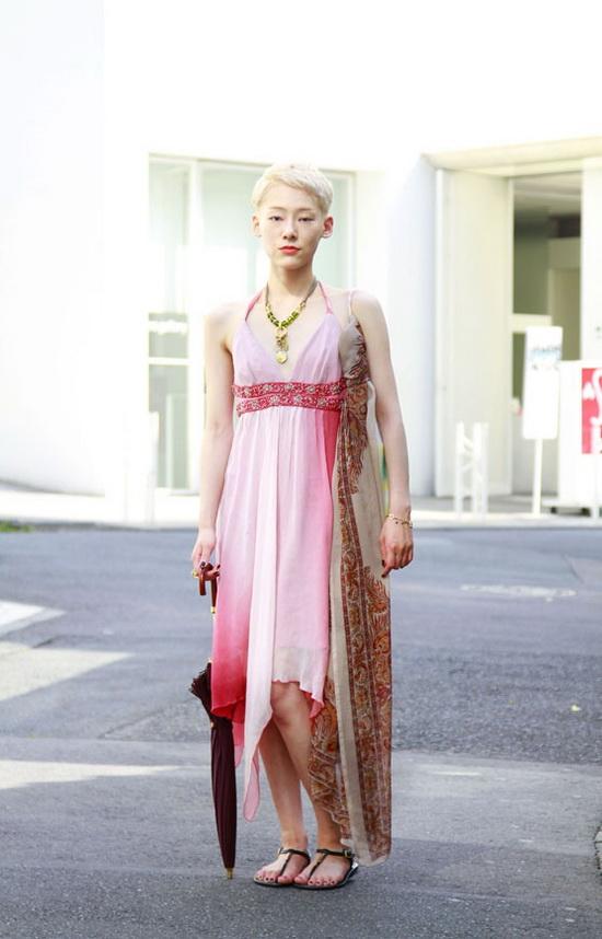 八月日本街拍 MM最爱裙装