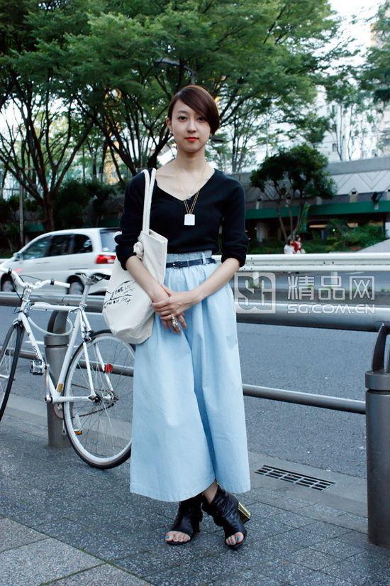8月日本街拍 裙装最显眼