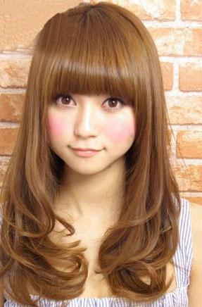 2011九月最新流行发型 中长发梨花头强势归来