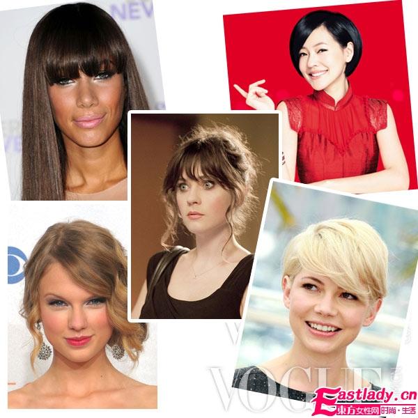 如何根据脸型选择适合的刘海发型