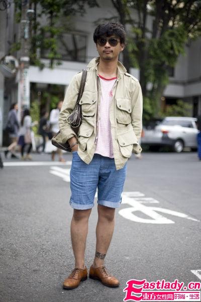 东京街头街拍 当下最潮复古元素