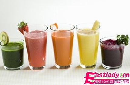 4款排毒养颜蔬菜汁女人最爱