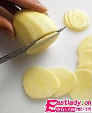 土豆美容护肤法 减缓衰老