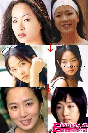 金素妍整容前后对比照 金素妍整容了吗 金素妍整容照片