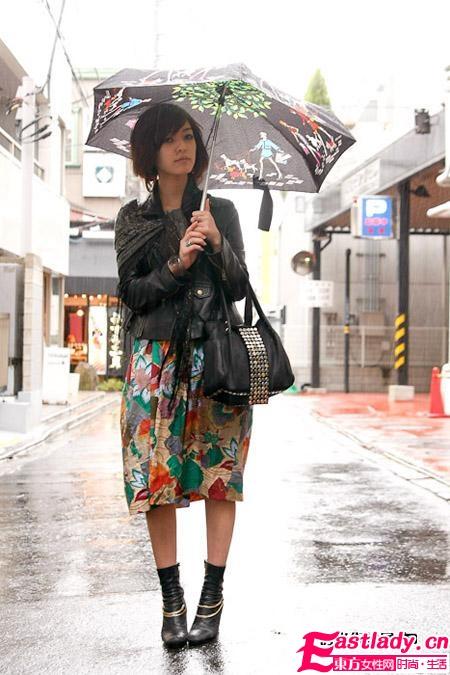2012初春日本东京街拍 个性十足