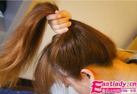 3种日式丸子头扎法 看发量选择