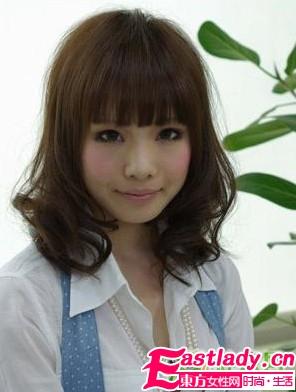 圆脸MM最爱的超人气秋季发型