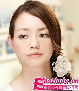 超显气质的5款日系淑女扎发