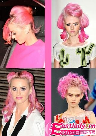 4款艳粉色发型大PK