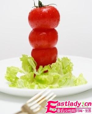轻松瘦身的番茄减肥方法