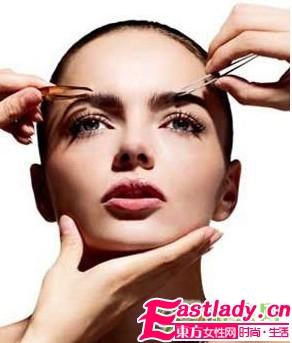 修眉毛的方法和技巧