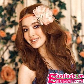 冬季流行9款发型打造甜美淑女风范