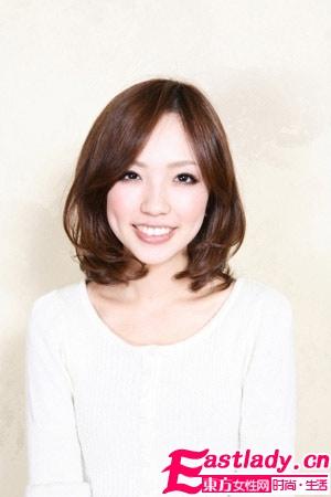 甜美小脸+四六分刘海
