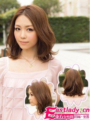 日系中长发发型Style 1