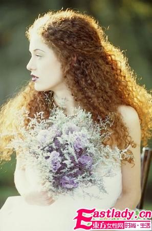 18款唯美新娘发型 最美的刹那