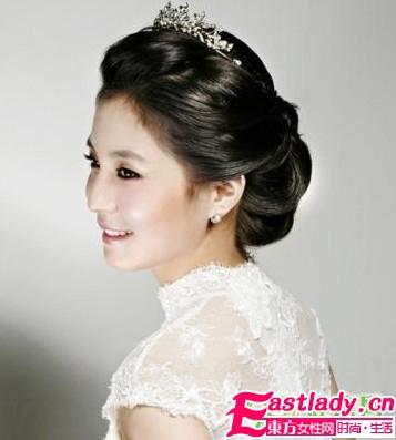 2011韩式新娘发型 复古优雅任你选