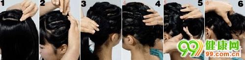 手把手教你9款超简单韩式发型DIY