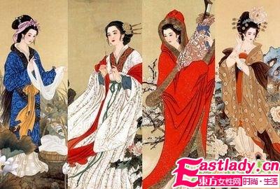 古代四大美女的天然减肥方法