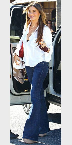 欧美明星教你如何选择适合自己的牛仔裤
