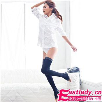 塑型美腿袜让肥肉隐形
