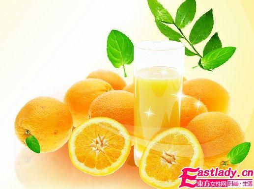 三大橙子减肥食谱 补C又