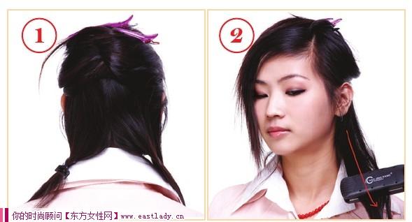 DIY最新潮的卷发发型