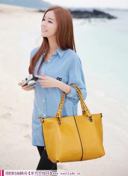 2012初秋新款韩版手提包 让你的搭配更轻松自然