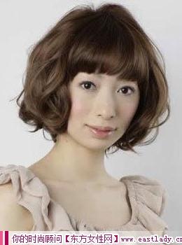 圆形脸要如何设计发型 让脸更显瘦