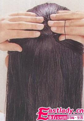 利用简单马尾发型 展现时尚活力