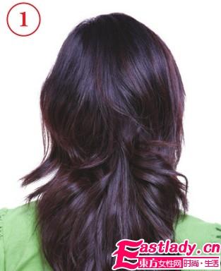 清新无邪中长发发型设计 清新中带着一丝甜美