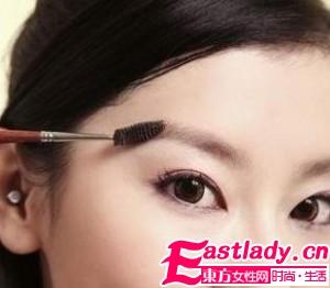 彩妆教程之正确的修眉方法