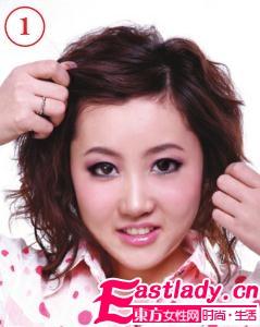 经典复古刘海发型 俏皮可爱