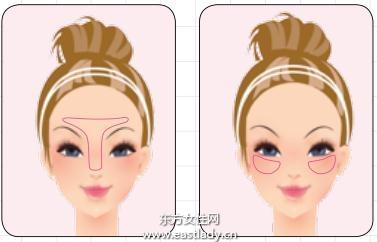 细腻散粉让底妆保持不脱妆