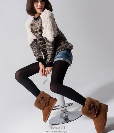时尚保温女靴让你全身暖暖的