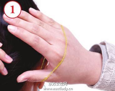 2013新款马尾辫的扎法图解 美化你的脸部轮廓